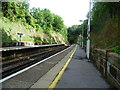 TQ3260 : Looking towards Riddlesdown Tunnel from Riddlesdown station by Ian Yarham