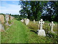 TQ7749 : Boughton Monchelsea Churchyard by Ian Yarham