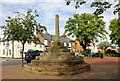 SJ4153 : Holt Market Cross by Jeff Buck