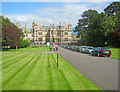 SK9128 : Stoke Rochford Hall by Trevor Rickard