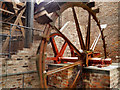 SJ8397 : Waterwheel, MOSI Power Hall by David Dixon