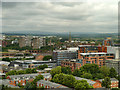 SJ8397 : View from the Beetham Tower, Towards Salford by David Dixon
