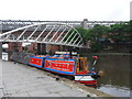 SJ8397 : Working Narrow Boat Hadar moored at Castlefield. by Keith Lodge