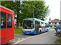 TQ4156 : Tatsfield:  Southdown PSV bus for Westerham by Dr Neil Clifton