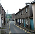 SO2117 : Narrow street, Llangattock by John Grayson