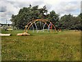 TQ3464 : Play area - Lloyd Park by Paul Gillett