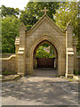 SD6523 : St Stephen's Church Lychgate by David Dixon