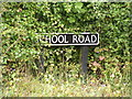 TM3288 : School Road sign by Adrian Cable