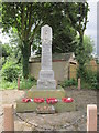 SE3912 : The War Memorial at South Hiendley by Ian S