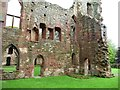 SJ5301 : North-east corner, Acton Burnell Castle by Christine Johnstone