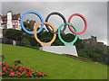 NT2573 : Edinburgh is ready for the Olympic Games by M J Richardson