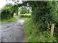 H4913 : Road at Corcraff by Kenneth  Allen