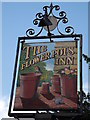 SU5828 : The Flower Pots Inn Sign by Colin Smith