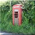 SO5626 : A little used telephone kiosk near Pict's Cross, Peterstow by Richard Green