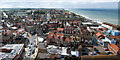 TG2142 : View from the Tower of Church of St Peter and St Paul, Cromer by Julian Dowse