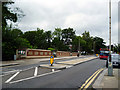 TQ3274 : North Dulwich:  Road bridge opposite station by Dr Neil Clifton