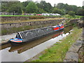 SK0282 : Working Narrow Boat Hadar moored in Bugsworth Upper Basin by Keith Lodge