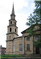 SE2918 : Horbury - parish church by Dave Bevis