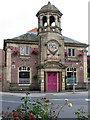 SE2918 : Horbury - former bank by Dave Bevis