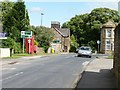 SE3641 : Left for Wetherby, right for Leeds by Christine Johnstone