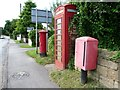 SE3641 : Communications, Syke Lane, Scarcroft by Christine Johnstone