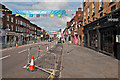 TQ2550 : Church Street - ready for the Olympic Torch by Ian Capper