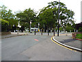 TQ3372 : Dulwich:  Northern end of Bowen Drive by Dr Neil Clifton