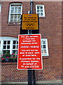 TQ2978 : London 2012 Parking Restrictions in John Islip Street by PAUL FARMER