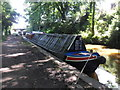 SJ9588 : Working Narrow Boat Hadar moored at Marple by Keith Lodge