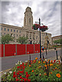 SE3406 : Barnsley Town Hall by Steve  Fareham