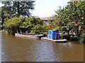 SD8901 : Dumb Barge on Rochdale Canal at Failsworth by David Dixon