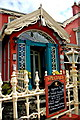 Q8859 : Kilkee - O'Connell Street - Stella Maris Hotel Entrance by Joseph Mischyshyn