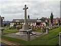 SJ6288 : Warrington Cemetery War Memorial by David Dixon