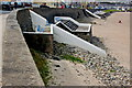 Q8860 : Kilkee - Strand Line - View Points & Steps to Beach by Joseph Mischyshyn