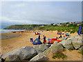 SW8467 : Mawgan Porth Beach by Ian Knight
