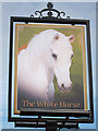 TQ3602 : The White Horse sign by Oast House Archive