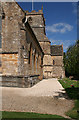 ST6718 : Milborne Port: St John's church - towards the tower by Martin Bodman