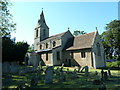 TL1097 : Church of St Remigius, Water Newton. by Alexander P Kapp