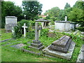 TQ2471 : St Mary's Churchyard, Wimbledon by Marathon