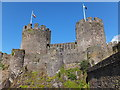 SH7877 : Conwy Castle by Richard Hoare