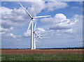 SU2391 : Westmill Wind Farm, near Watchfield by Vieve Forward