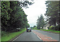 NY3961 : Entering Blackford on A7 north by John Firth