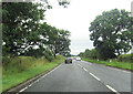 NY3963 : A7 at entrance to Jerriestown by John Firth