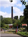 SO8992 : Baggeridge Brick Chimney by Gordon Griffiths