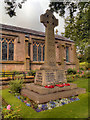 SD6425 : War Memorial, Immanuel Church by David Dixon
