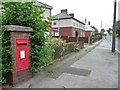 SE4111 : Wall letter box, Brierley by Christine Johnstone