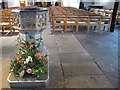 TQ2971 : Font of St Leonard's church by Stephen Craven