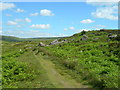 SK2680 : Path to Burbage Rocks from the A6187 by John Topping