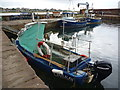 NT5585 : Leith Registered Fishing Boats : Gypsy Girl (LH559) at North Berwick by Richard West