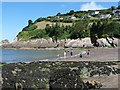 SS5747 : Looking across the beach at Combe Martin : Week 31